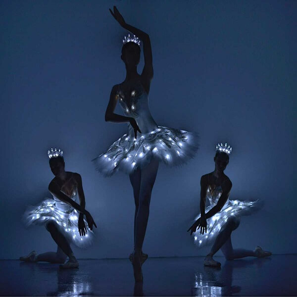 LED/Glow Ballerinas