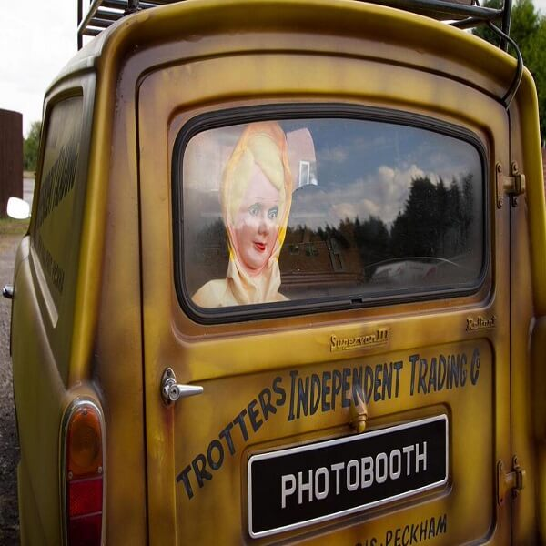 Only Fools and Horses Photo Booth Van