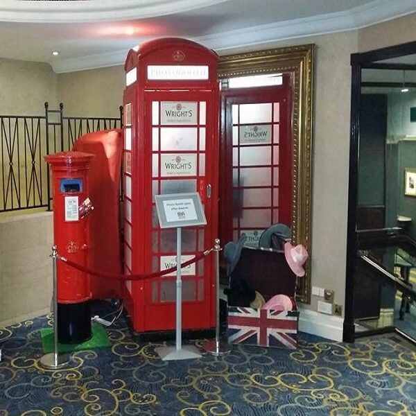 Red Telephone Box Photo Booth