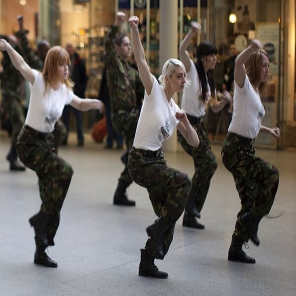 Flash Mob Dancers