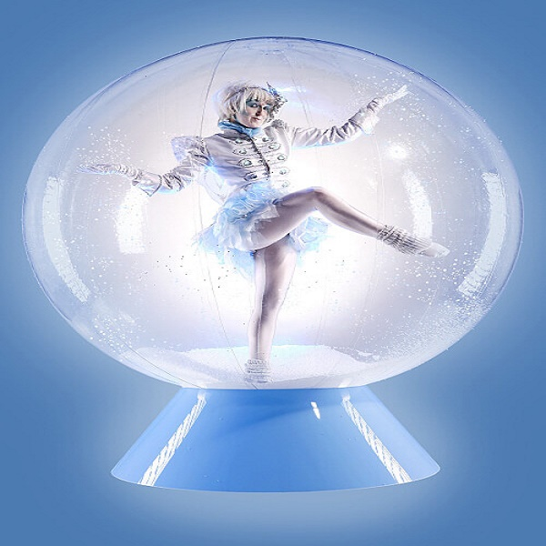 Ice Elves In a Snow Globe