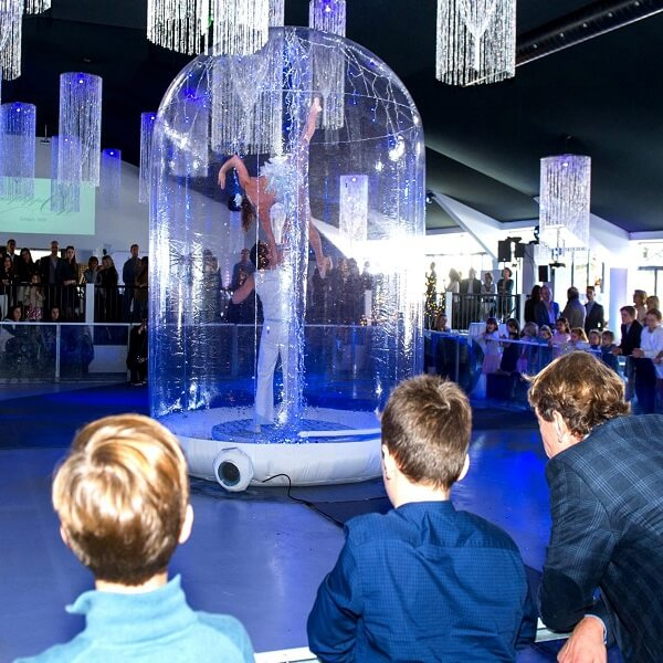 Magical Snow Globe Show (Acrobat Act)