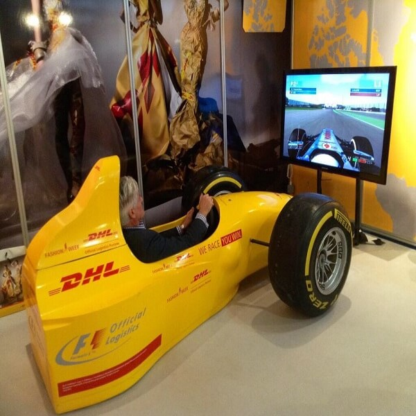 F1 Racing Pod Simulator