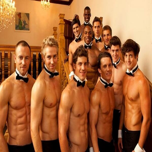 Topless Waiters