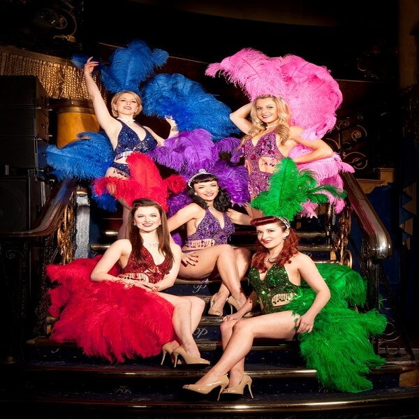 Burlesque Showgirl Dancers (Full Flavour)