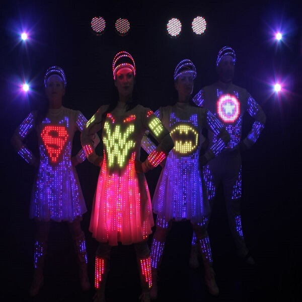 LED Pixel Video Dancers