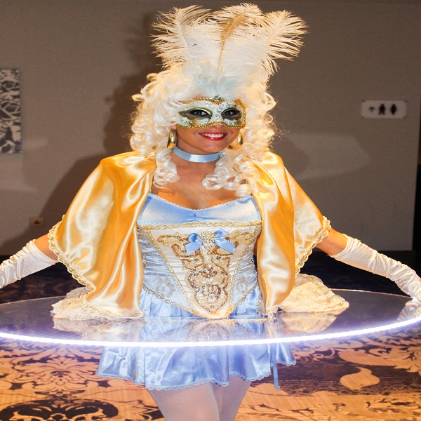 Human canape trays hire book canape table hostesses for Perspex canape trays