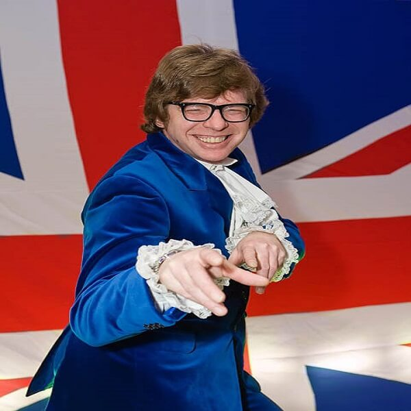 Austin Powers Lookalike
