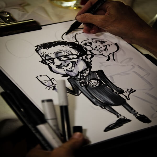 Caricaturist / Cartoonist for events
