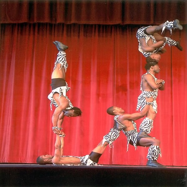 Brown Sugar African Acrobats