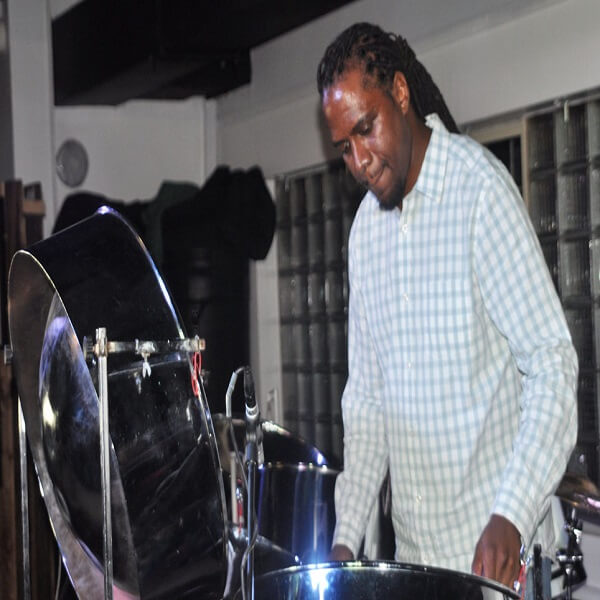 Bollywood Solo Steel Pan Player