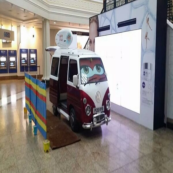 Mini VW Camper Photo Booth