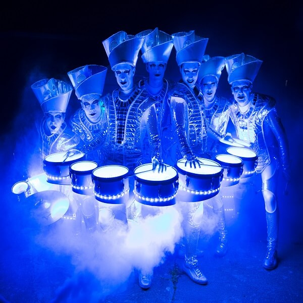LED Drummers (Flash)