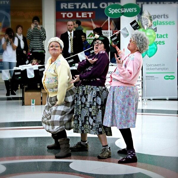 Comedy Dancing Old Ladies