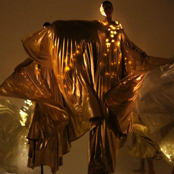 Stilt Walkers LED (Utopia Wing Dancers)