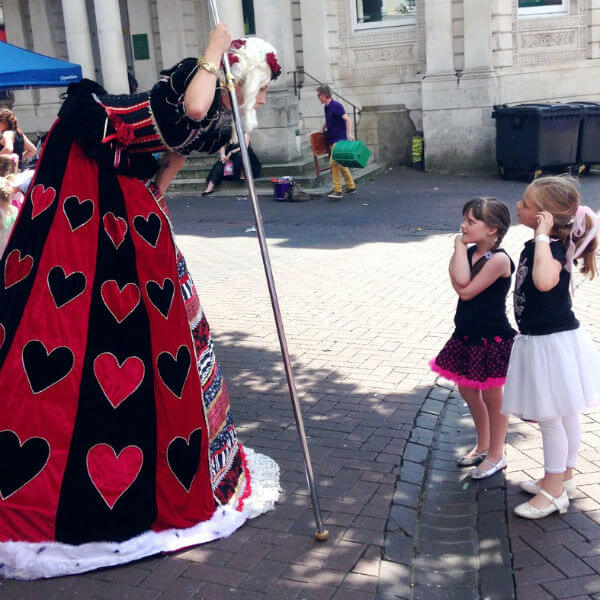 Alice in Wonderland Theme (Queen of Hearts & Friends)