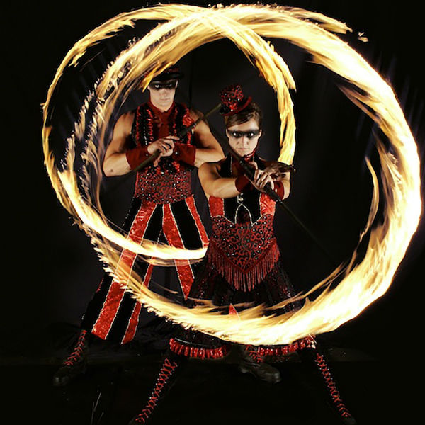 Acroblaze (Acrobatic Fire Duet)