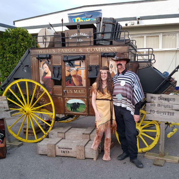 Wild West Stagecoach Photo Booth