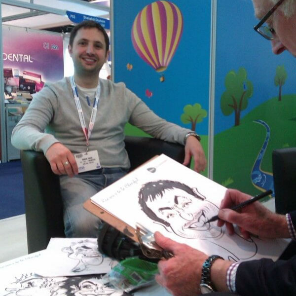 Caricaturist / Cartoon Artist (Trade Shows & Exhibitions)