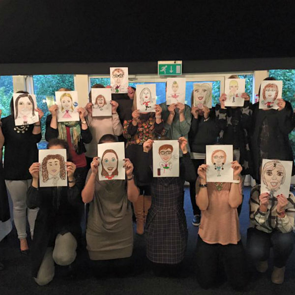 Caricaturist Workshop / Visualising