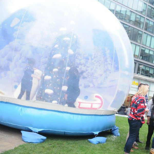 Snow Globe Photo Booth (8ft,10ft, 13ft, 16ft)