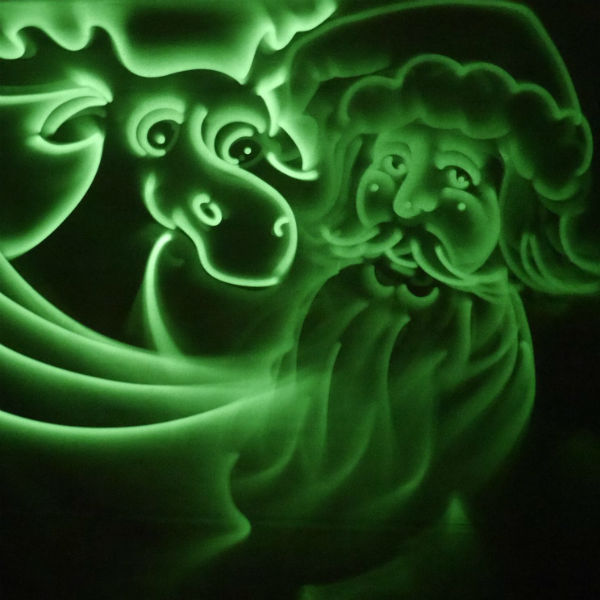 Animation Light Art Show (Painting With Light)