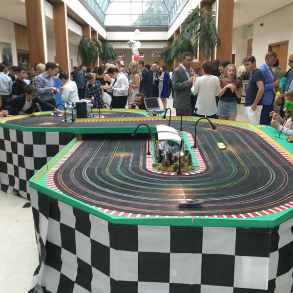 Giant Scalextric (8 Lane Track)