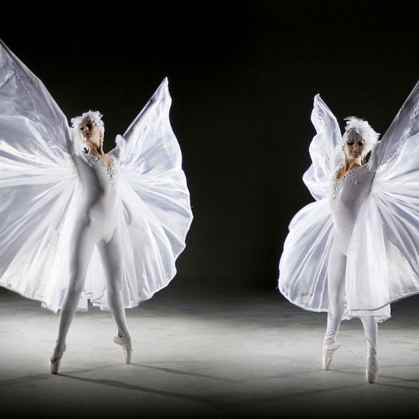 Diamond Winged Ballerinas