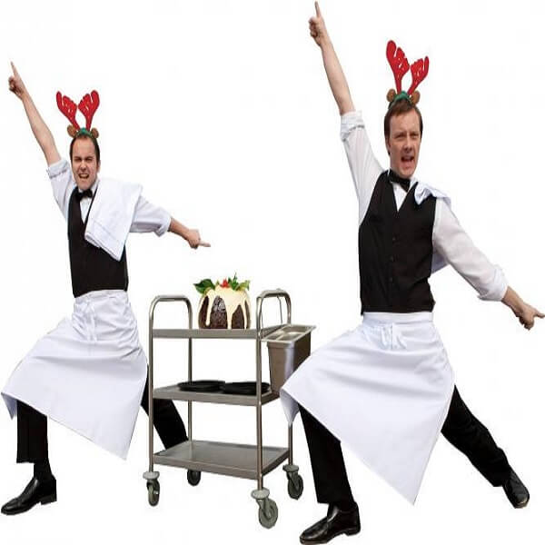Christmas Comedy Waiters