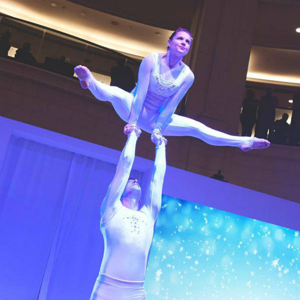 Acrobatic Adagio Duo