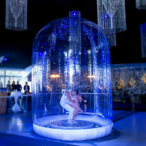 Magical Snow Globe Show (Acrobatic Duo)