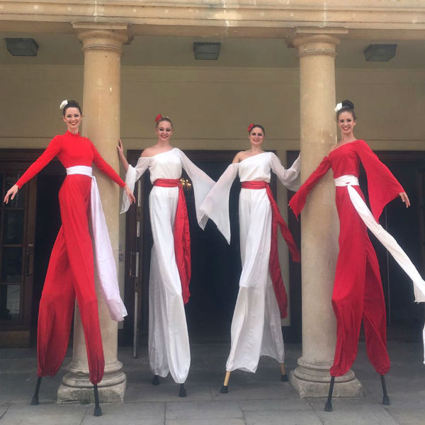 Stilt Walkers LED (Utopia)