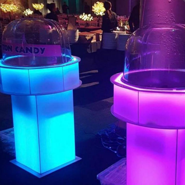 Candy Floss LED Stand