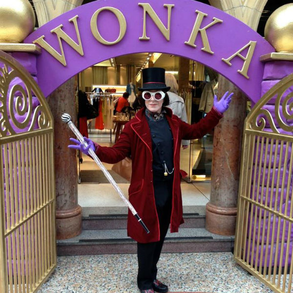 Willy Wonka Lookalike