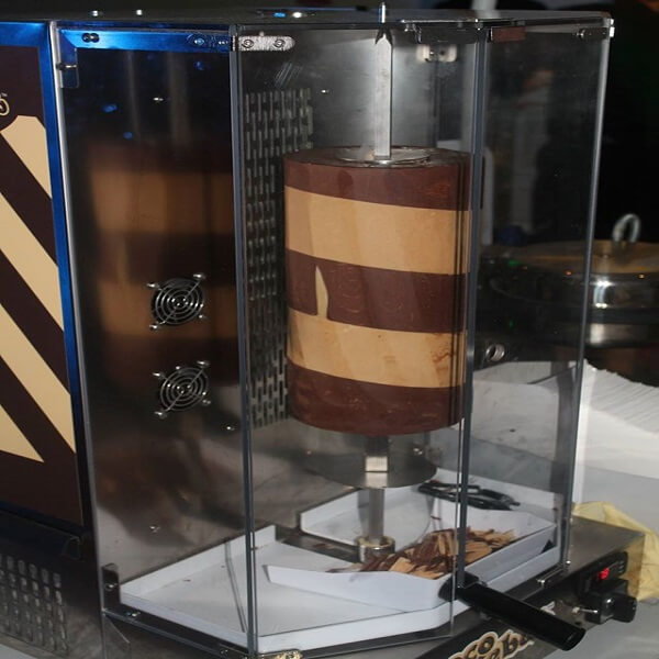 Chocolate Kebab Machine