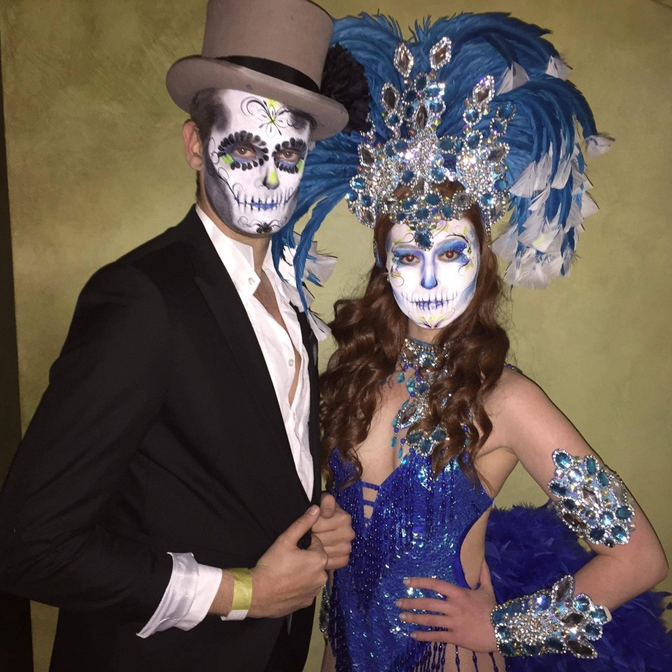 Day of the Dead / Twisted Circus Themed Dancers