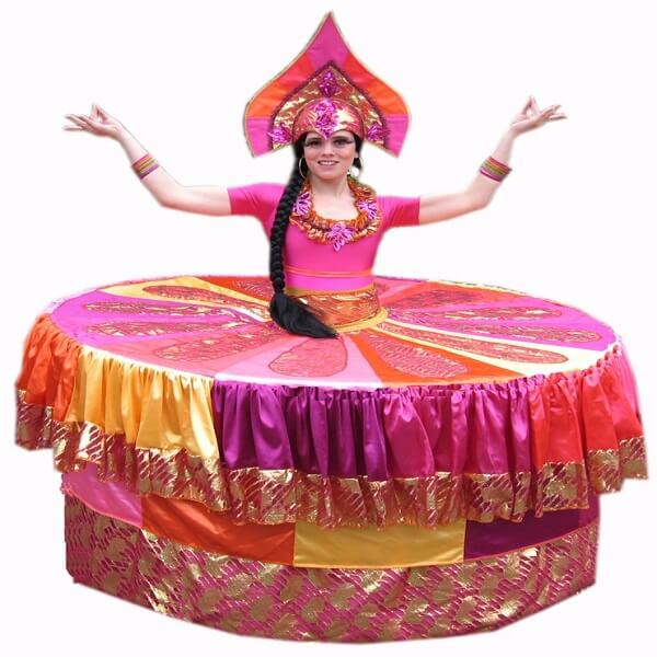 Bollywood Human Living Tables