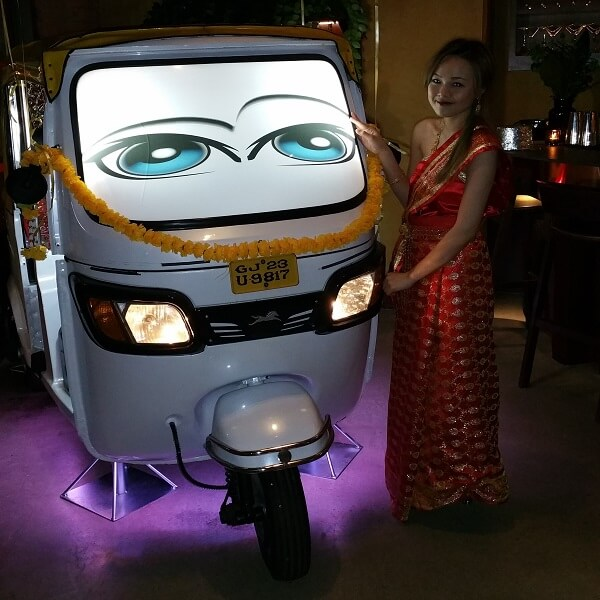 Rickshaw Tuk Tuk Photo Booth
